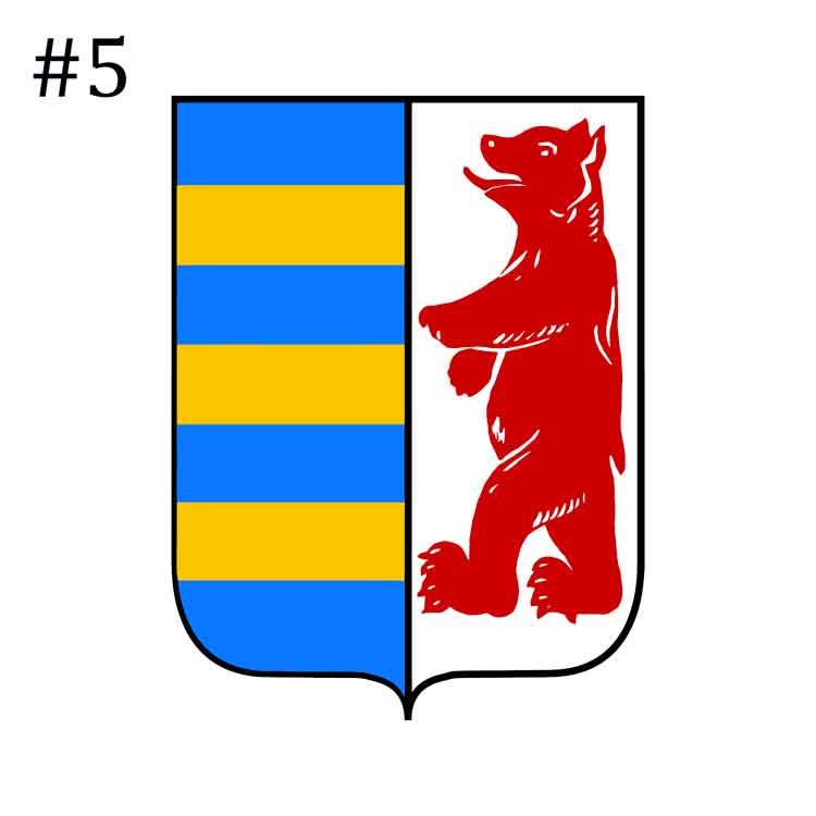 5 Carpathian Rusyn Ruthenian Coat Of Arms Tmt Digital