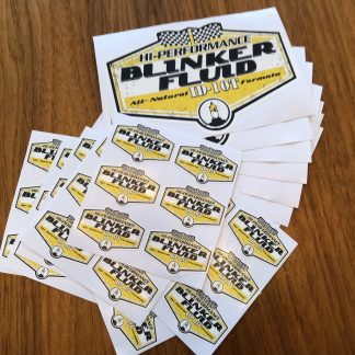 Blinker Fluid Stickers