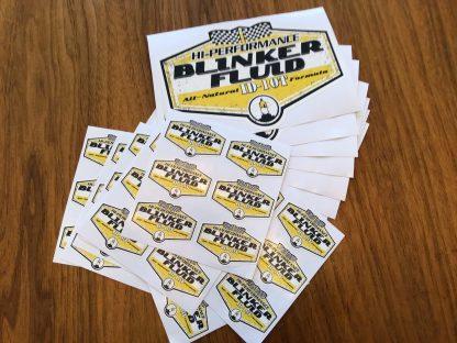 Blinker Fluid Stickers